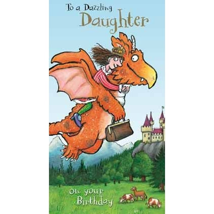 Zog Dazzling Daughter Birthday Card
