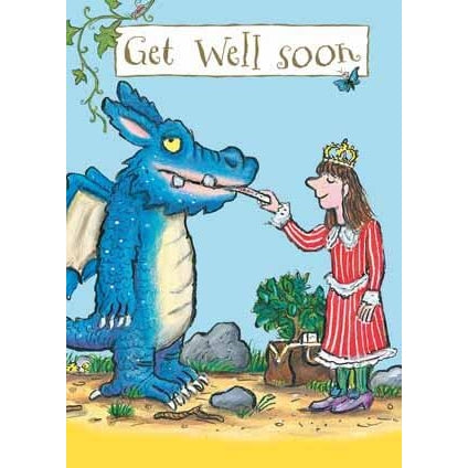 Zog Get Well Soon Card
