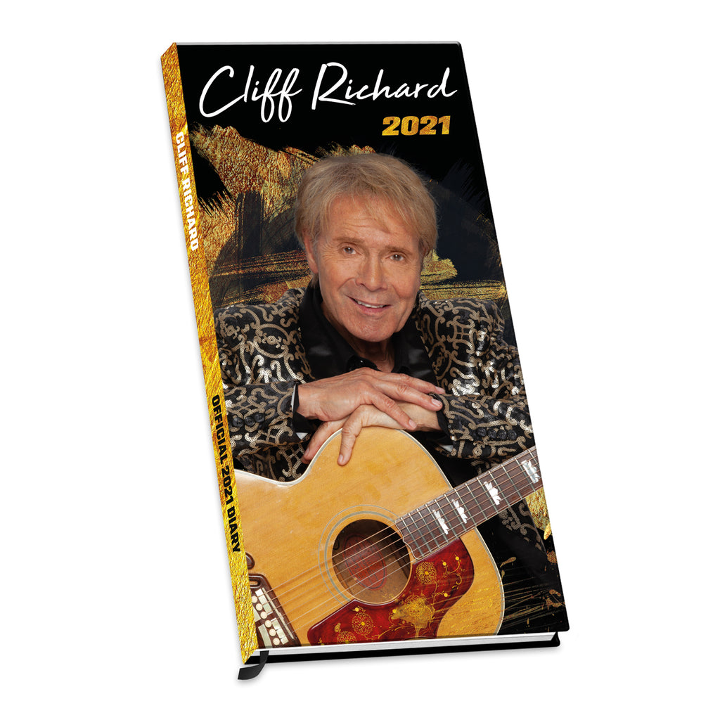 Cliff Richard 2021 Diary 3d Cover