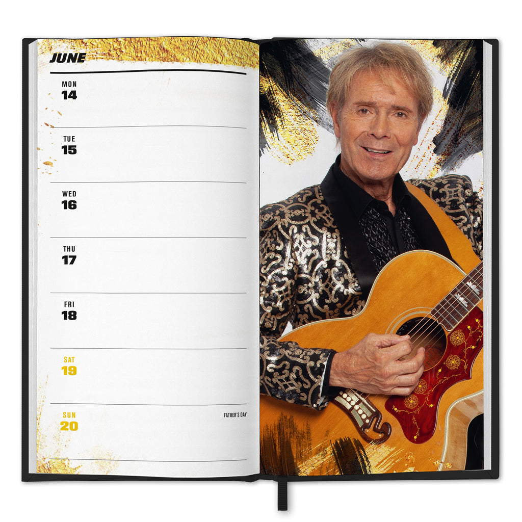 Cliff Richard 2021 Diary Inside