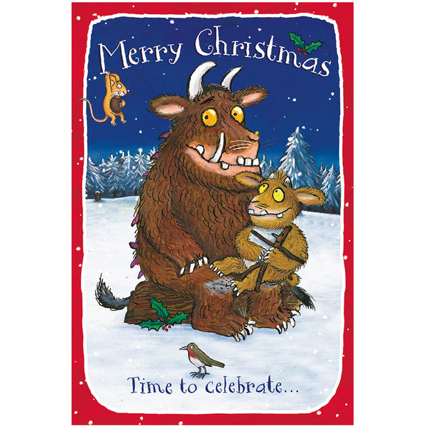 The Gruffalo Christmas Card