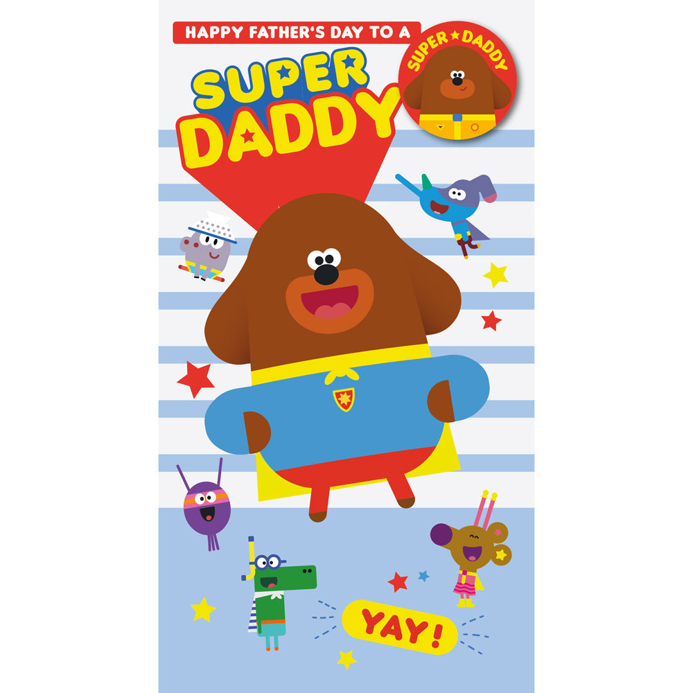 Hey Duggee Fathers Day Daddy Card