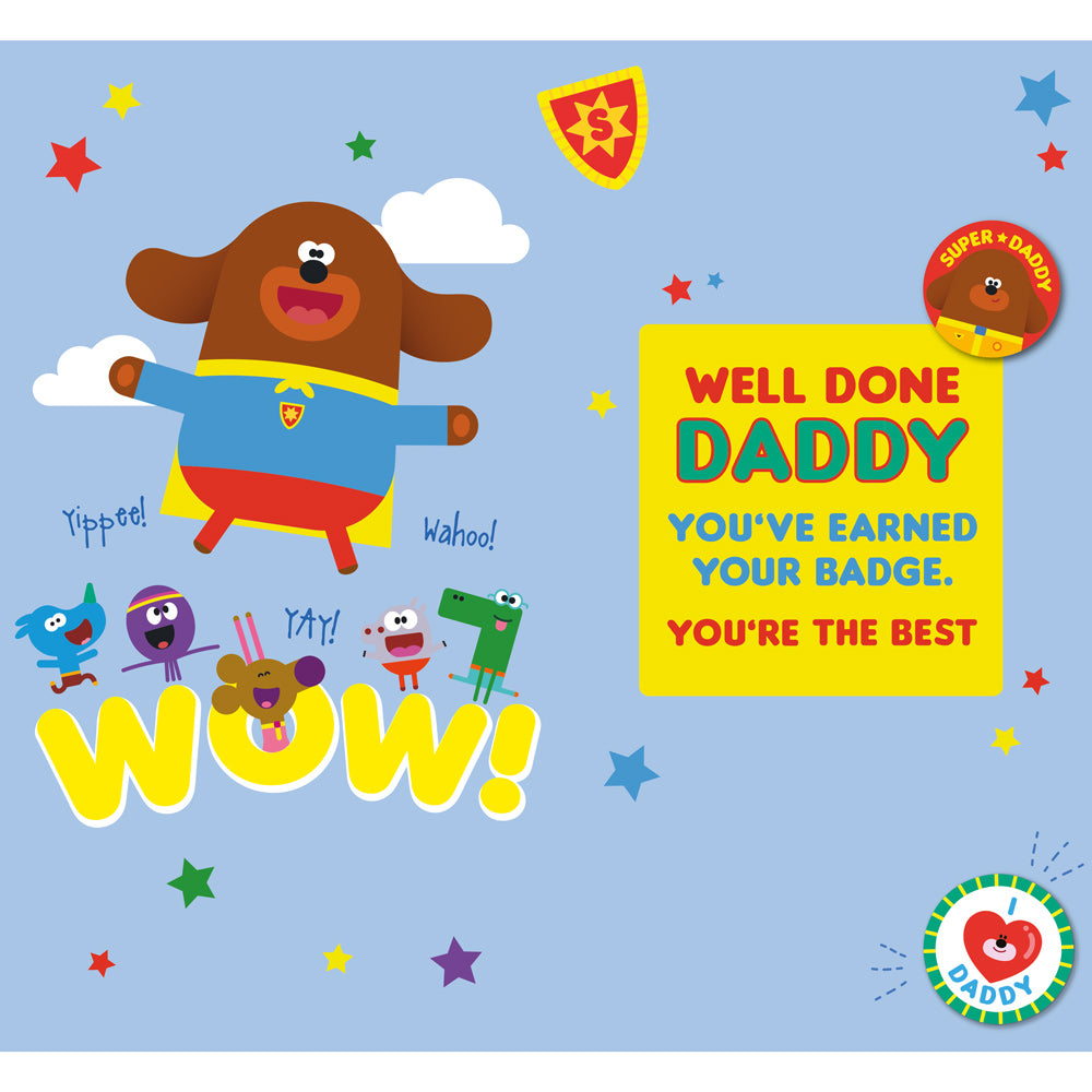 Hey Duggee Father's Day Card Inside