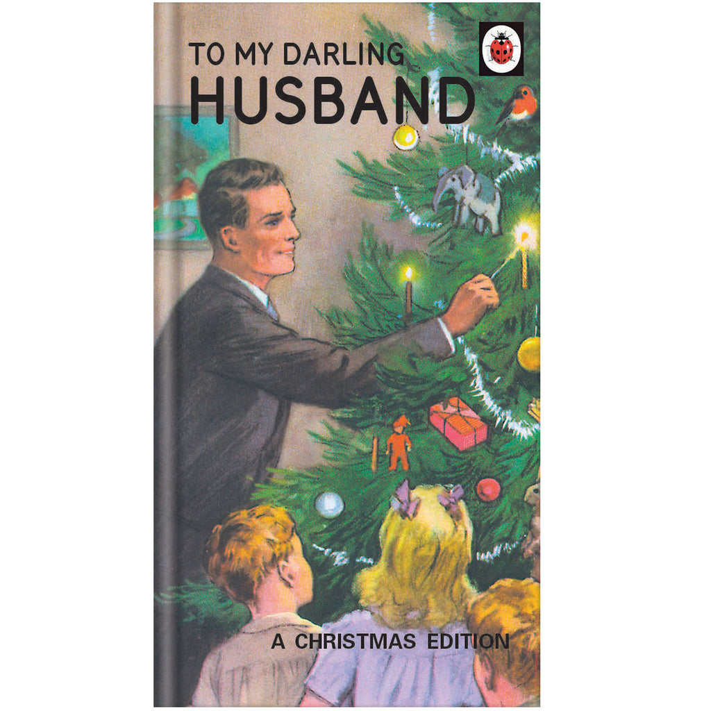 Ladybird Books for Grown Ups Husband Christmas Card
