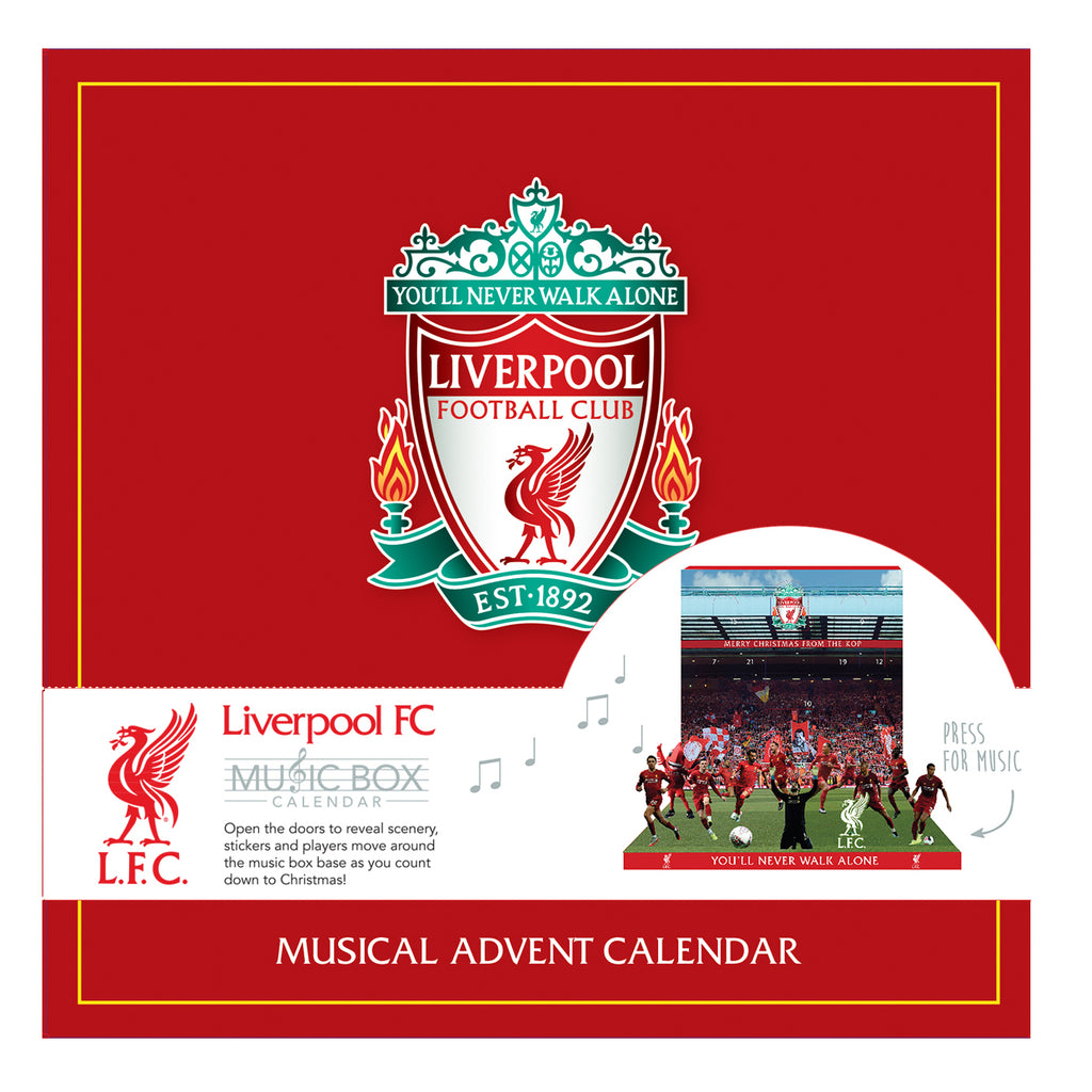 Liverpool Football Club Advent Calendar Front
