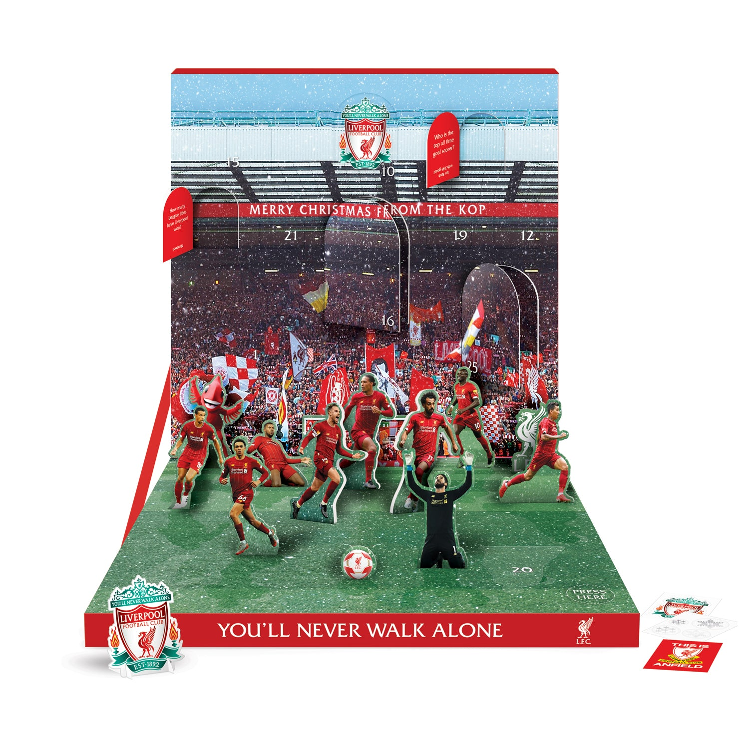 Liverpool Football Club Musical Advent Calendar