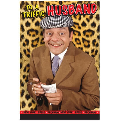 Only Fools and Horses Husband Birthday Card