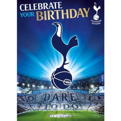 Tottenham Hotspur Birthday Sound Card