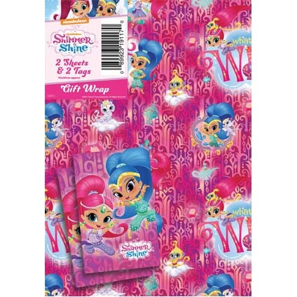 Shimmer and Shine 2 Sheets and Tags