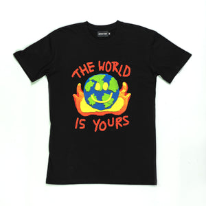 Open image in slideshow, THE WORLD IS YOURS Tee