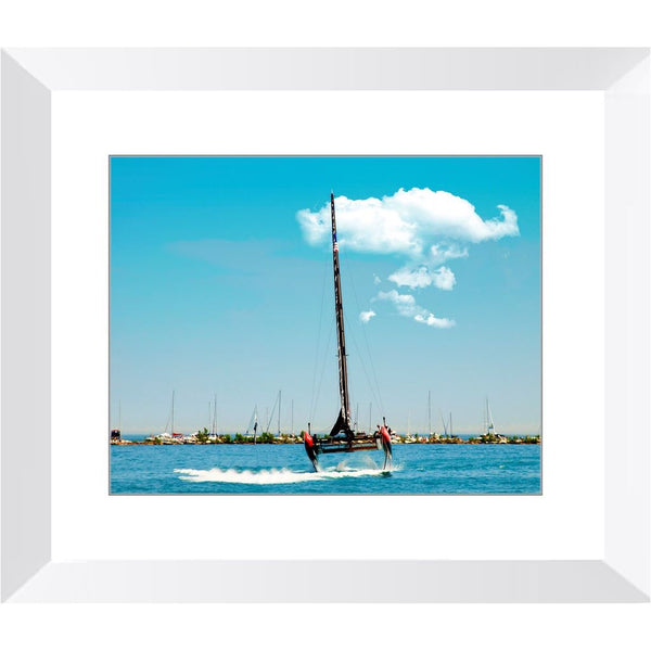 America's Cup at Lake Michigan Framed Print | Horstmann Designs, Photography Wall Art