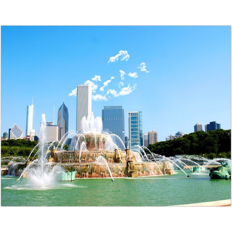 Buckingham Fountain Fine Art Print | Horstmann Designs, Photography Wall Art