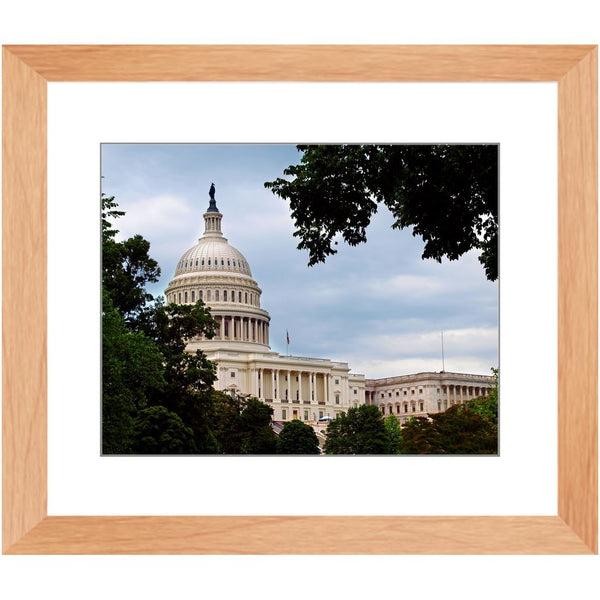 Capitol Building Washington II Framed Print | Horstmann Designs, Photography Wall Art
