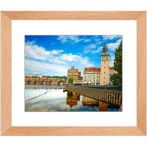 Charles Bridge III Framed Print | Horstmann Designs, Photography Wall Art