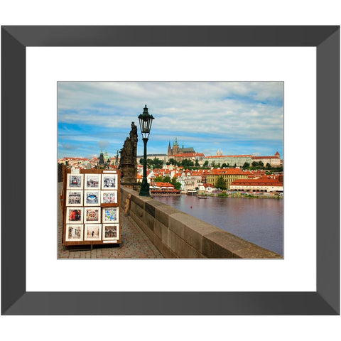 Charles Bridge VI Framed Print | Horstmann Designs, Photography Wall Art