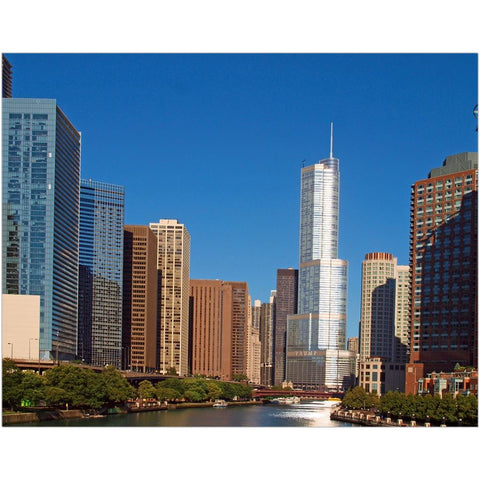 Chicago River II Fine Art Print | Horstmann Designs, Photography Wall Art