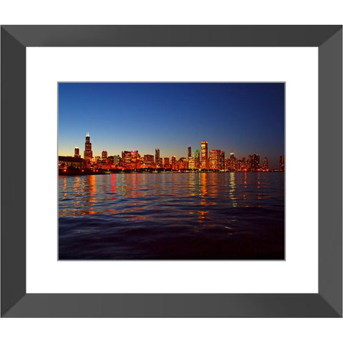 Chicago Skyline Framed Print | Horstmann Designs, Photography Wall Art