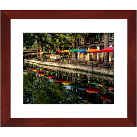 Colourful River Walk Framed Print | Horstmann Designs, Photography Wall Art