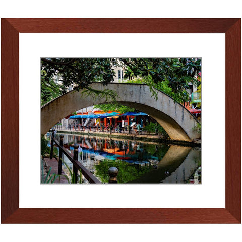 Colourful River Walk VI Framed Print | Horstmann Designs, Photography Wall Art