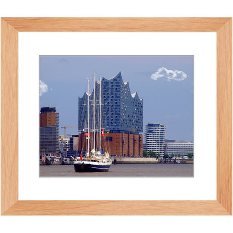 Cruise on the river Elbe Framed Print | Horstmann Designs, Photography Wall Art
