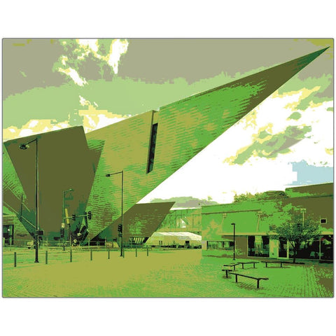 Denver Art Museum I Metal Print | Horstmann Designs, Photography Wall Art