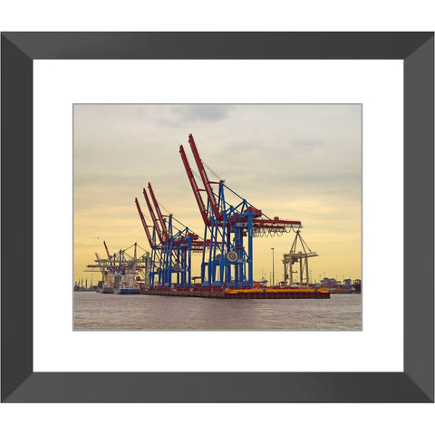 First Light at the Harbor Framed Print | Horstmann Designs, Photography Wall Art