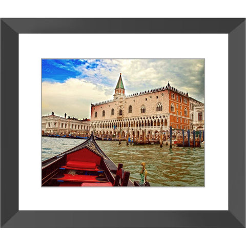 Gondola Tour Grand Canal Venice Italy Framed Print | Horstmann Designs, Photography Wall Art