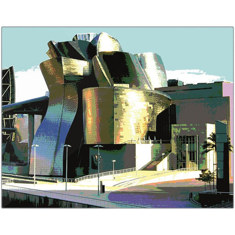 Guggenheim II Metal Print | Horstmann Designs, Photography Wall Art