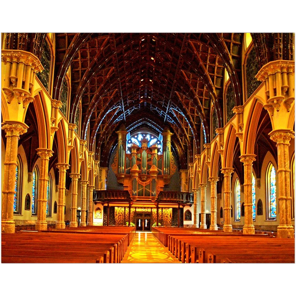 Holy Name Cathedral Fine Art Print | Horstmann Designs, Photography Wall Art
