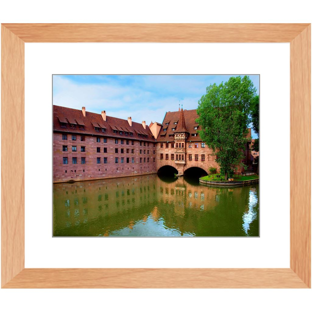 Hospice of the Holy Spirit Framed Print | Horstmann Designs, Photography Wall Art