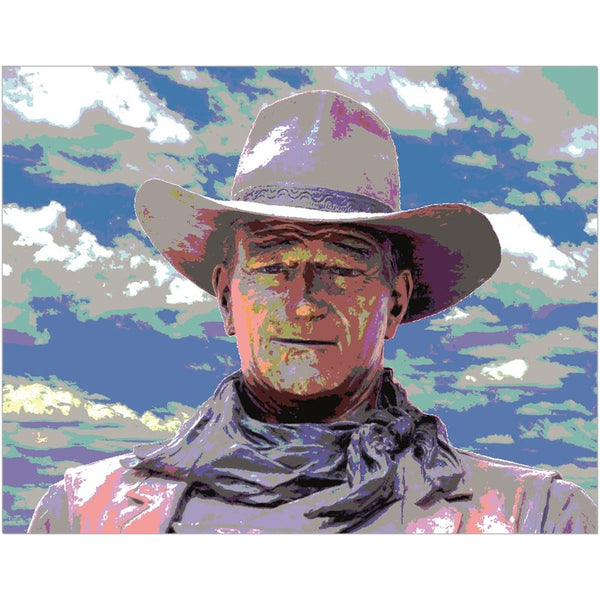 John Wayne Fine Art Print | Horstmann Designs, Photography Wall Art
