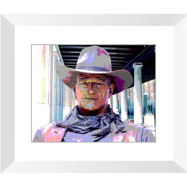 John Wayne Framed Print | Horstmann Designs, Photography Wall Art