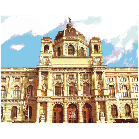 Kunsthistorisches Museum Wien Metal Print | Horstmann Designs, Photography Wall Art