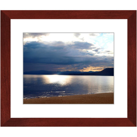 Lake Tahoe at Dusk I Framed Print | Horstmann Designs, Photography Wall Art