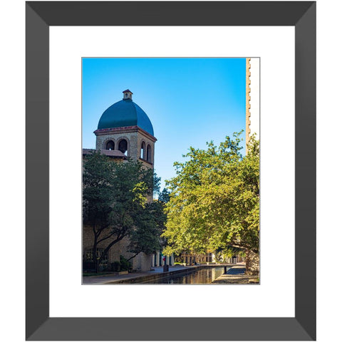 Las Colinas Clock Tower II Framed Print | Horstmann Designs, Photography Wall Art