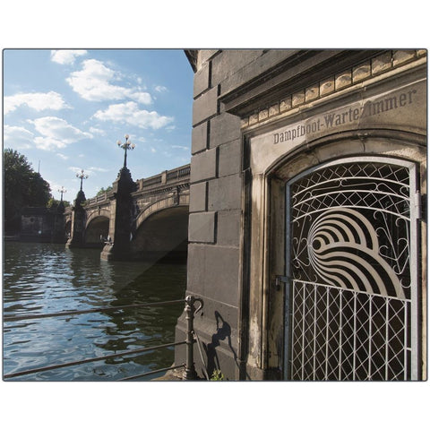 Lombard's Bridge II-XVIII Metal Print | Horstmann Designs, Photography Wall Art