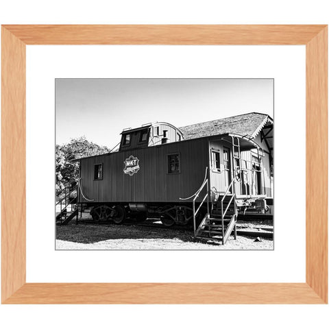MKT Caboose I-II Framed Print | Horstmann Designs, Photography Wall Art