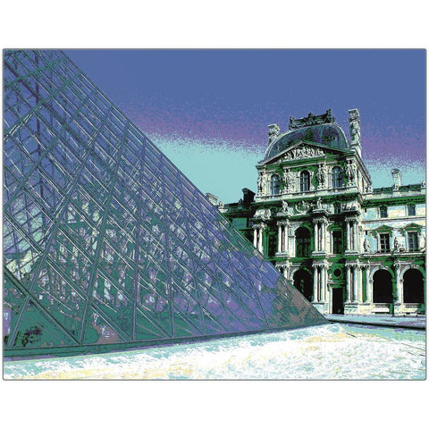Musée du Louvre Metal Print | Horstmann Designs, Photography Wall Art