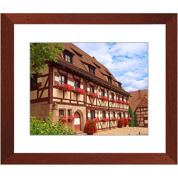 Nuremberg Castle VII Framed Print | Horstmann Designs, Photography Wall Art