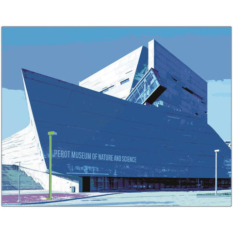 Perot Museum of Nature and Science Metal Print | Horstmann Designs, Photography Wall Art