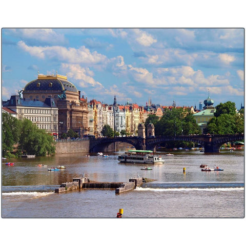 Prague I Metal Print | Horstmann Designs, Photography Wall Art