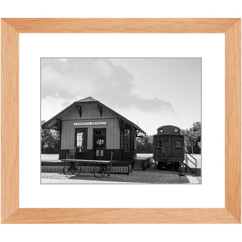 Railroad Depot & Caboose I-II Framed Print | Horstmann Designs, Photography Wall Art