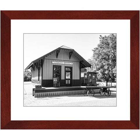 Railroad Depot & Caboose III-II Framed Print | Horstmann Designs, Photography Wall Art