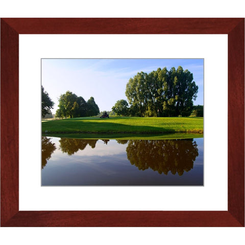 Reflections of Golf Framed Print | Horstmann Designs, Photography Wall Art