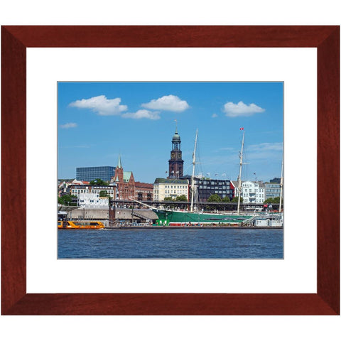 Rickmer Rickmers Framed Print | Horstmann Designs, Photography Wall Art