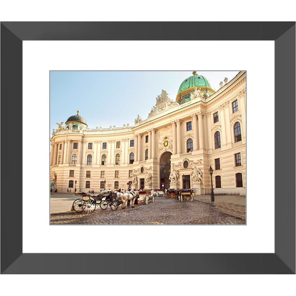 Royal Stables Vienna Framed Print | Horstmann Designs, Photography Wall Art