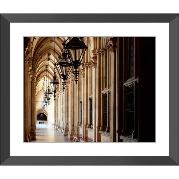 Stone Corridor Vienna Framed Print | Horstmann Designs, Photography Wall Art
