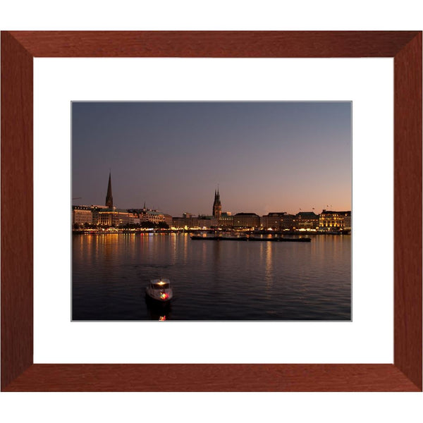 Sunset and the City Framed Print | Horstmann Designs, Photography Wall Art