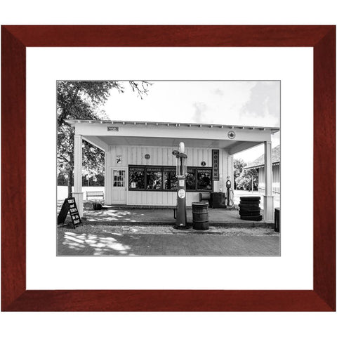 Texaco I-II Framed Print | Horstmann Designs, Photography Wall Art