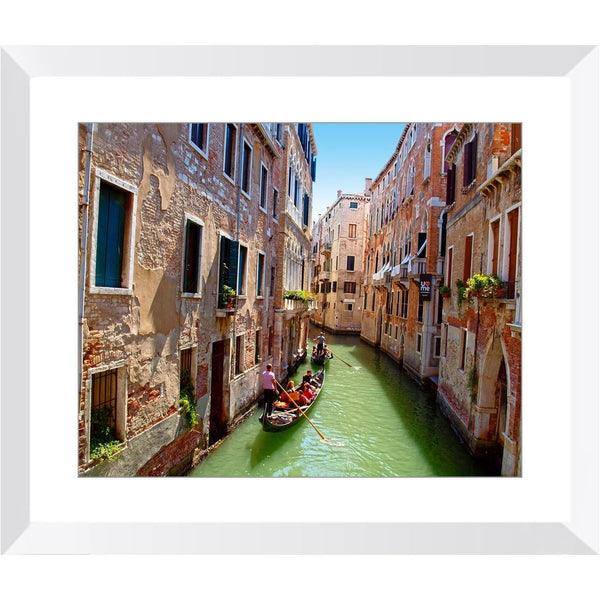 Venice Canal Gondola Tours Framed Print | Horstmann Designs, Photography Wall Art